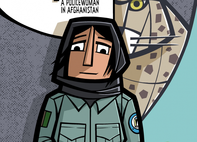 Zahra: A policewoman in Afghanistan